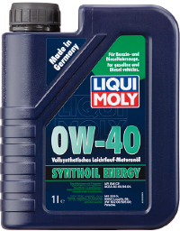 Масло моторное ликви моли Liqui Moly Synthoil Energy 0W 40, 1л