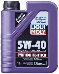 Масло моторное ликви моли SYNTHOIL HIGH TECH SAE 5W-40, 1л