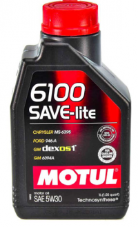 Масло моторное Motul 6100 Save-Lite 5w30 1л