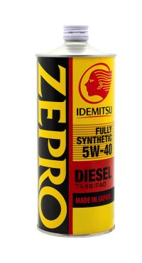 Масло моторное Idemitsu Zepro Diesel CF Fully Synthetic 5W-40, 1л
