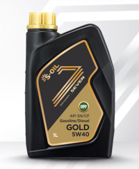 Масло моторное S-Oil 7 Gold 5w40 1л
