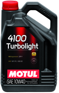 Масло моторное Motul  4100 Turbolight 10W40 4л