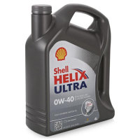 Масло моторное шелл Shell Helix Ultra 0W-40 4л