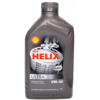 Масло моторное шелл Shell Helix Ultra 0W-40 1л