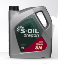 Масло моторное S-Oil Dragon 10w40 SN 6л