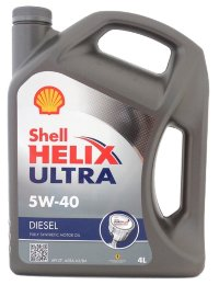 Масло моторное шелл Shell Helix Ultra Diesel 5W-40  4л
