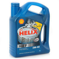 Масло моторное шелл Shell Helix HX7 5W-40 4л
