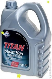 Масло моторное титан Titan Supersyn Longlife plus 0W-30 4л