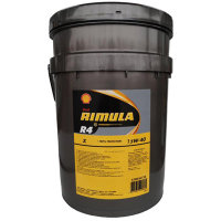 Масло моторное шелл SHELL RIMULA R4 15w40 20л