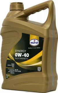 Eurol Synergy 0W-40 (MB 229.5 и др.) ПАО+эстеры 5л